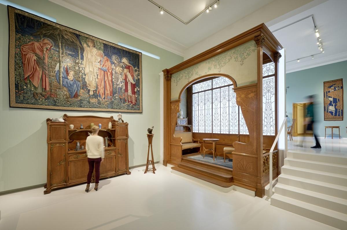 anstehende veranstaltungen jugendstil ausflug ins museum f r kunst und gewerbe kulturforum. Black Bedroom Furniture Sets. Home Design Ideas